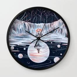 THE WEAKER SISITE Wall Clock