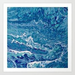Bahama Blues Art Print