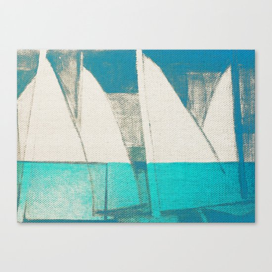 Sails 3 Canvas Print