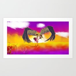 Ascendant Art Print