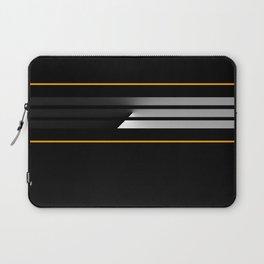Team Color 5....orange, black Laptop Sleeve