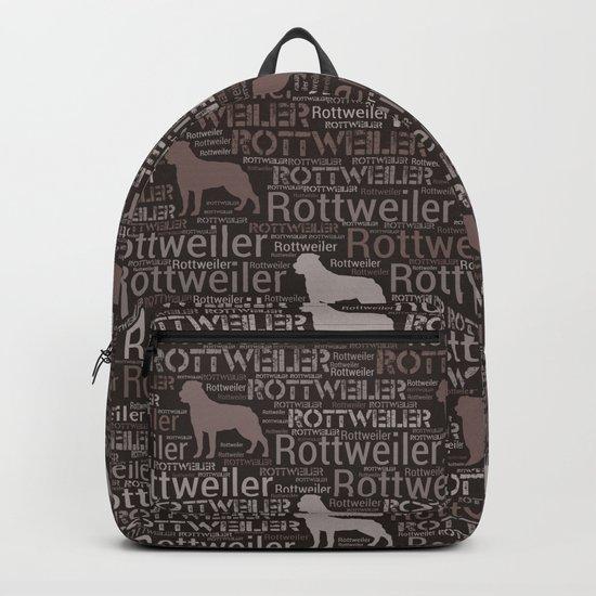 Rottweiler  - Metzgerhund Pattern by k9printart