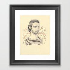 Billy Brown from Buffalo 66 Framed Art Print