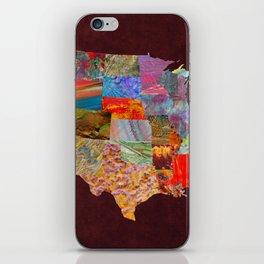 USA Map iPhone Skin