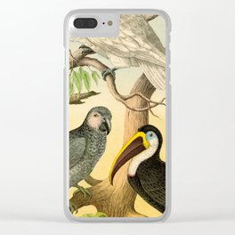 6 Birds Clear iPhone Case