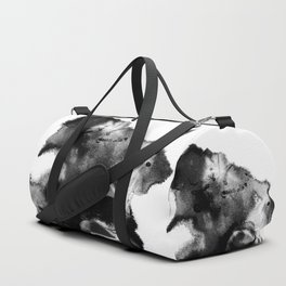 Black & White Watercolor Scape Duffle Bag