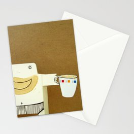 Coffee Lover Cigi Pal Stationery Cards