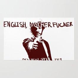 Pulp Fiction Samuel L Jackson English Motherfucker Do You Speak It? Rug