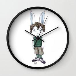 Mr Rabbit Wall Clock
