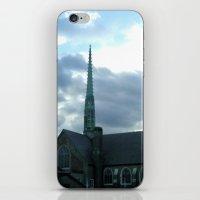 spires iPhone & iPod Skins featuring  Spires by Jean Ladzinski