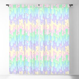 Easter Slime Blackout Curtain