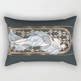 A Scandal in Belgravia - Mucha Style Rectangular Pillow