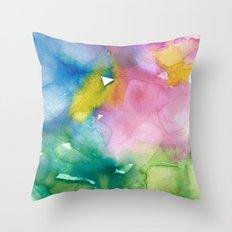 Retinal Ghost #1 Throw Pillow