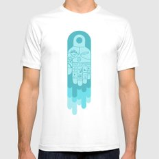 Hospitality White Mens Fitted Tee SMALL