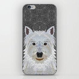 Westie iPhone Skin