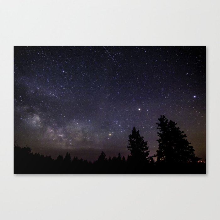 The Galactic Core Canvas Print