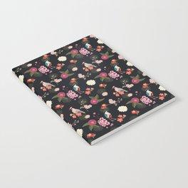 Eastern delight Japanese garden Notebook