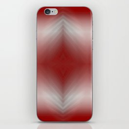 Red Blurr Abstract Diamond iPhone Skin