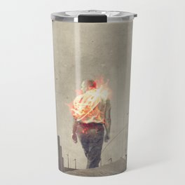 These cities burned my soul Travel Mug