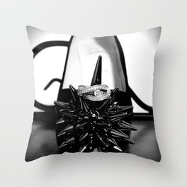 Dye your life with richly color Throw Pillow