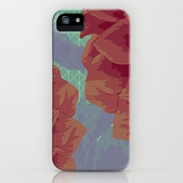 Survival of Flowers iPhone Case