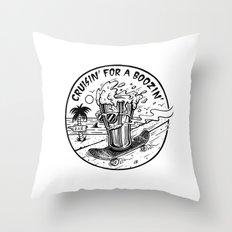Cruisin' for a Boozin' Throw Pillow
