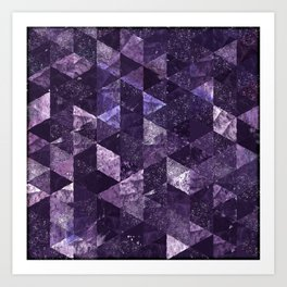 Abstract Geometric Background #27 Art Print