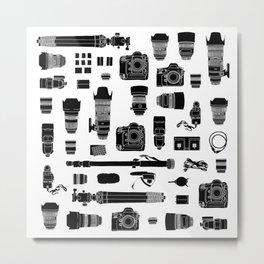 Photographer Kit Metal Print