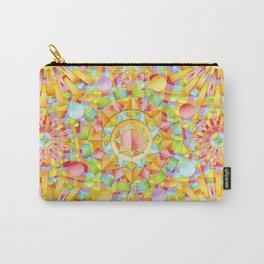 Circus Rainbow Mandala Carry-All Pouch