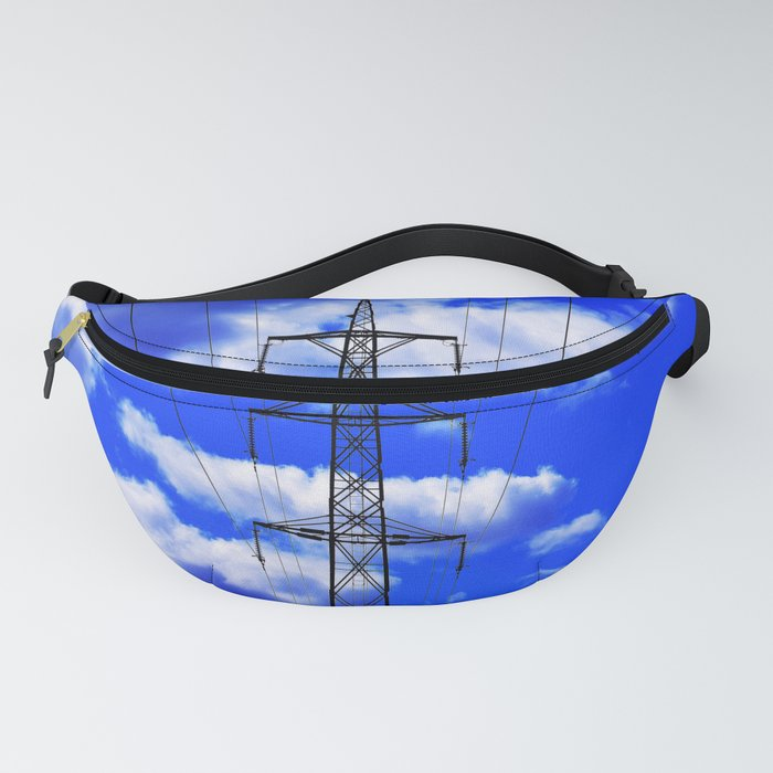 Power lines 12 Fanny Pack