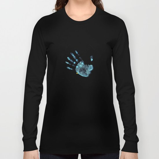 Hand Print Long Sleeve T-shirt