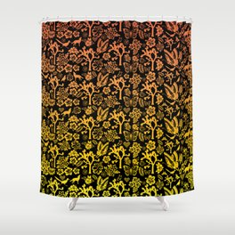 Joshua Tree Sunset by CREYES Shower Curtain