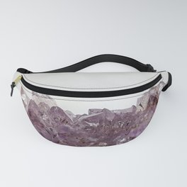 Amethyst cluster Fanny Pack