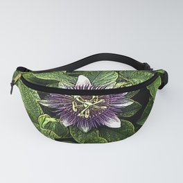 Passionflower II Fanny Pack