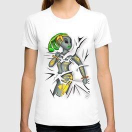 Tear T-shirt