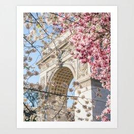 NYC Spring 1 Art Print