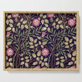 William Morris Sweet Briar Floral Art Nouveau Serving Tray