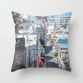 Tokyo 30 Throw Pillow