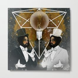 THE ILLUSIONISTS Metal Print