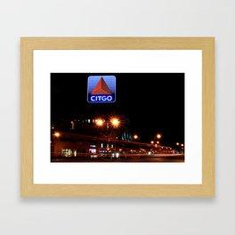 Boston ICON Framed Art Print