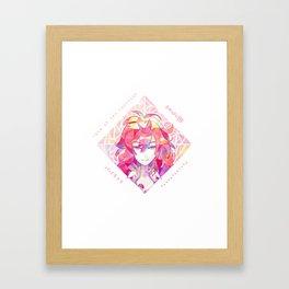 Houseki no kuni - Padparadscha Framed Art Print