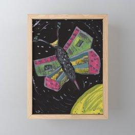 Squareland -squatterfly Framed Mini Art Print