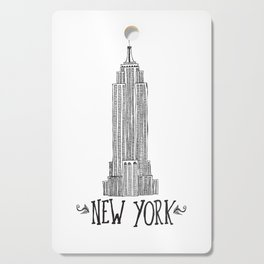 Empire State Building Cutting Board