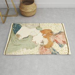 "Henri de Toulouse-Lautrec ""Mademoiselle Marcelle Lender, en Buste"" Rug"