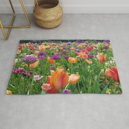 A Sunset in Bloom Rug