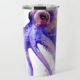 Octopus, purple pink decor Travel Mug