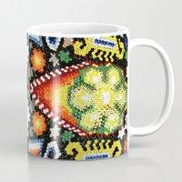 jaguar Mugs featuring Jaguar by Jaramillo Velez