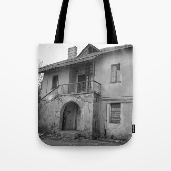 Lost on a half Tote Bag