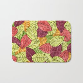 Let the Leaves Fall #11 Bath Mat