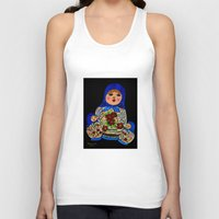 russian Tank Tops featuring Russian dolls by maggs326